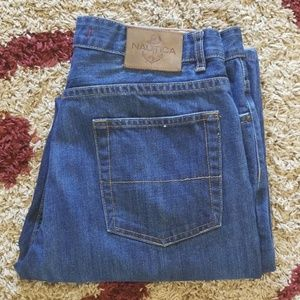 Nautica Relaxed Fit Jeans Size 35 X 34